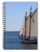 Sailing Downeast Spiral Notebook