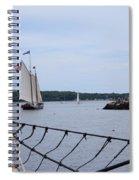 Sailing In Spiral Notebook
