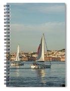 Sailing In Lisbon Portugal Spiral Notebook