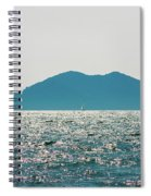 Sailing In The Distance Spiral Notebook