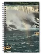 Sailing Into The Mist Spiral Notebook