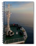 Sailing Into The Unknown... Spiral Notebook