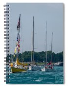 Sailing North Spiral Notebook