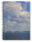 Sailing On Chiemsee Lake Spiral Notebook