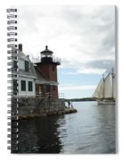 Sailing Out Spiral Notebook