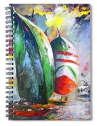Sailing Regatta Spiral Notebook