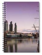 Sailing Ship Spiral Notebook