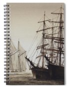 Sailing Ships Spiral Notebook