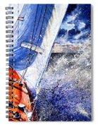 Sailing Souls Spiral Notebook