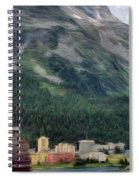 Sailing St Moritz Spiral Notebook