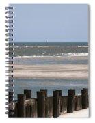 Sailing The Atlantic Spiral Notebook