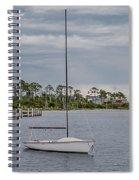 Sailing The Shoreline Spiral Notebook