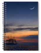 Sailing To The Moon 2 Spiral Notebook