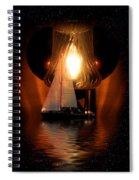 Sailing Under The Stars Spiral Notebook