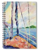 Sailing - Wind In Your Face Spiral Notebook