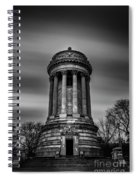 Sailors And Soldiers Monument Spiral Notebook
