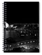 Sails In The Night Spiral Notebook