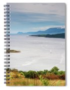 Sails On The Kyles Of Bute Spiral Notebook