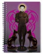 Saint Anonymous Spiral Notebook