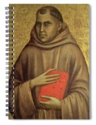 Saint Anthony Abbot Spiral Notebook