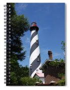 Saint Augustine Lighhouse Spiral Notebook