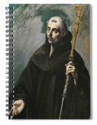 Saint Benedict Spiral Notebook