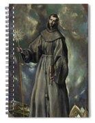 Saint Bernard Spiral Notebook