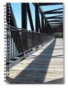 Saint Charles Walking Bridge Spiral Notebook