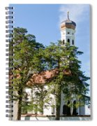 Saint Coloman Church 3 Spiral Notebook