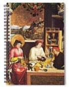 Saint Eligius In His Workshop Spiral Notebook