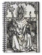 Saint Erasmus Spiral Notebook