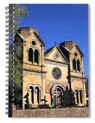 Saint Francis Cathedral Santa Fe Spiral Notebook