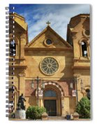 Saint Francis Cathedral Spiral Notebook