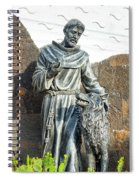 Saint Francis In Galapagos Spiral Notebook
