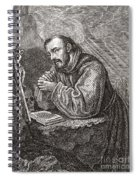 Saint Francis Of Assisi Spiral Notebook
