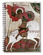 Saint George Spiral Notebook