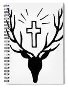 Saint Huberts Stag Spiral Notebook
