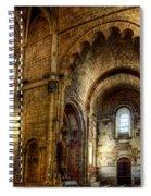Saint Isidore - Romanesque Temple Transept Spiral Notebook