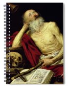 Saint Jerome Spiral Notebook