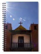 Saint Jeromes Chapel Taos Pueblo Spiral Notebook