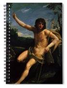 Saint John The Baptist 1637 Spiral Notebook