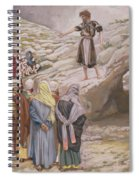 Saint John The Baptist And The Pharisees Spiral Notebook