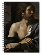 Saint John The Baptist In Prison Visited By Salome Spiral Notebook