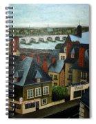 Saint Lubin Bar In Lyon France Spiral Notebook