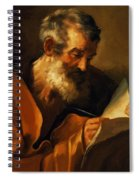 Saint Mark 1621 Spiral Notebook