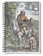 Saint Martin (c316-397) Spiral Notebook