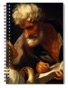 Saint Matthew 1621 Spiral Notebook