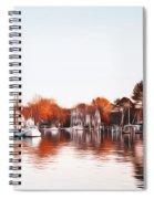 Saint Michael's Harbor Spiral Notebook