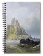 Saint Michael's Mount In Cornwall  Spiral Notebook