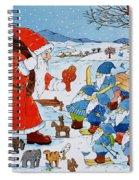 Saint Nicholas Spiral Notebook